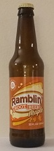 Ramblin' Maple Root Beer Bottle